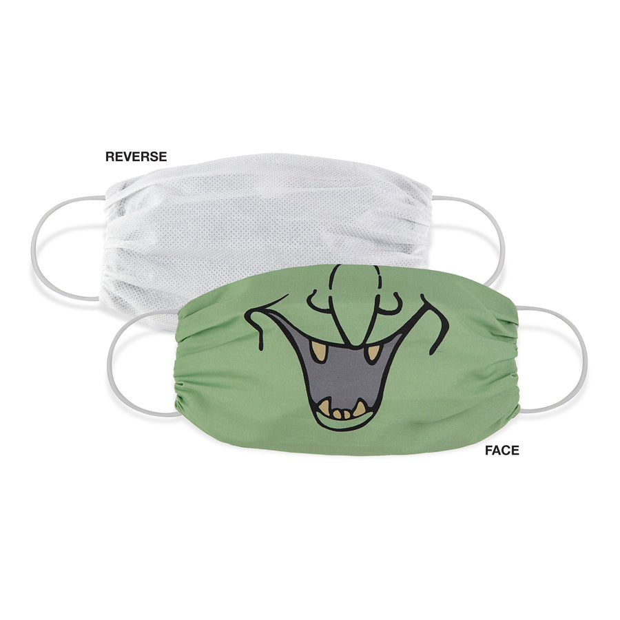 Martex Health Adult Halloween Spooky Gathered Face Mask 3 Pack