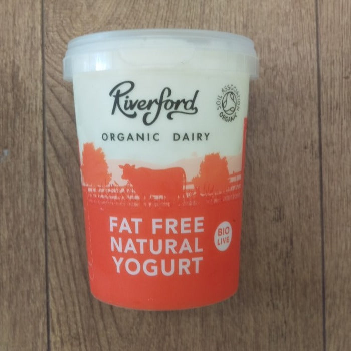 475ml Riverford Organic Low Fat Natural Yogurt