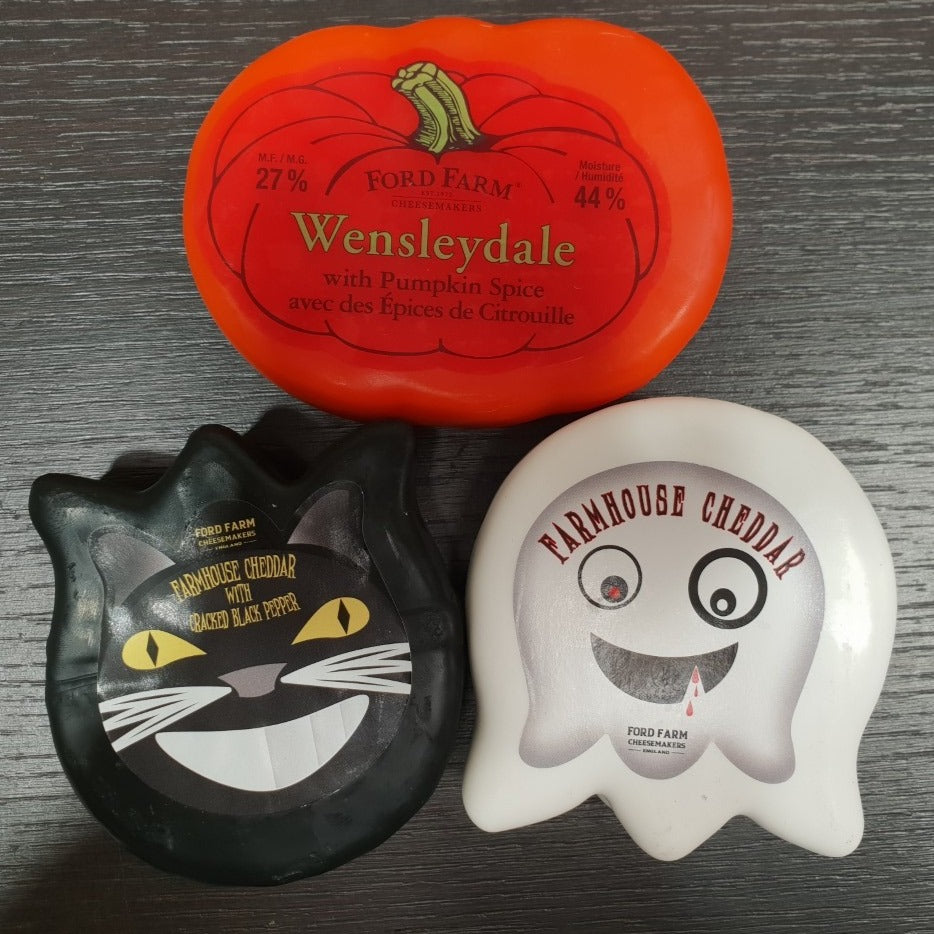 Halloween Cheese Trio