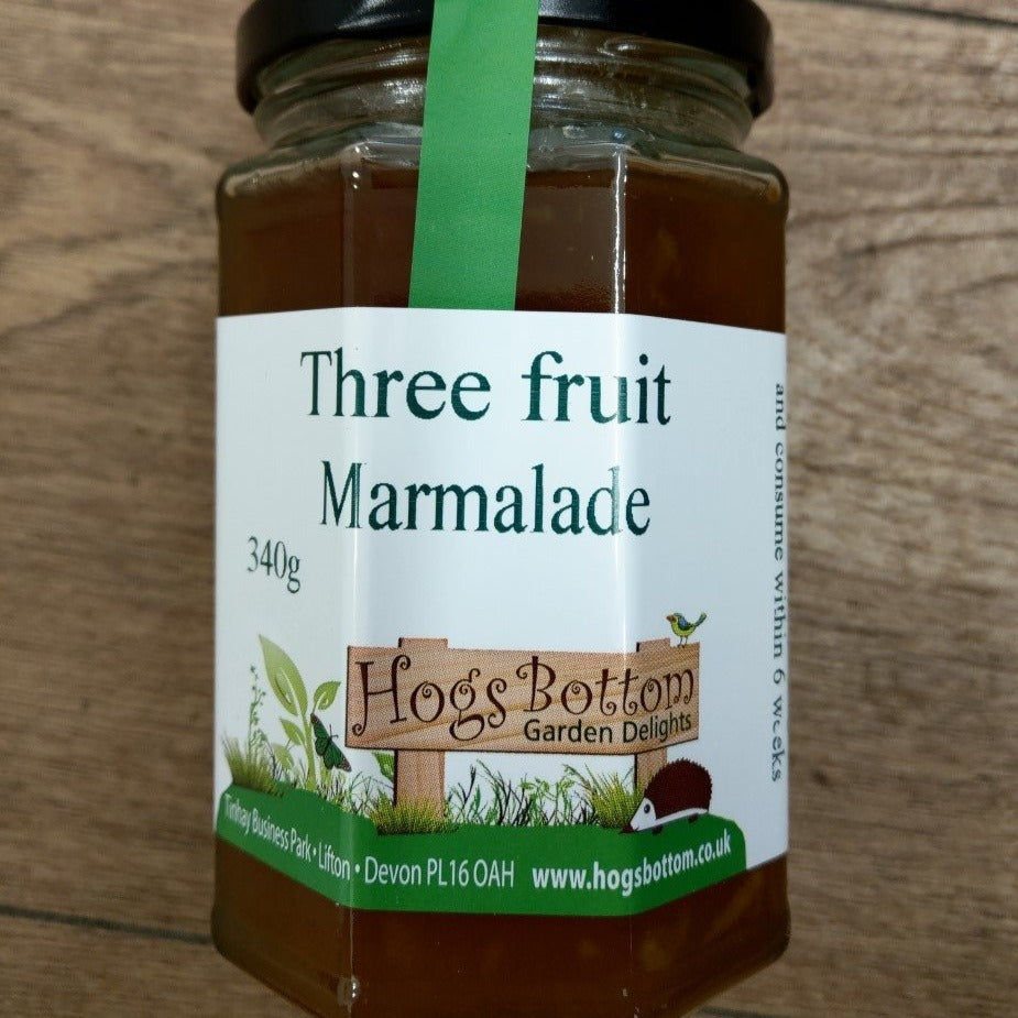 Three Fruit Marmalade 340g
