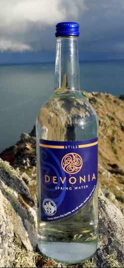 Devonia Glass Bottled Water