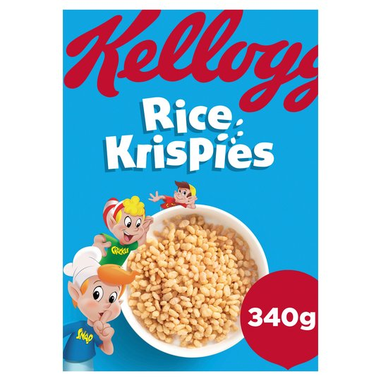 Kelloggs Rice Crispies Cereal (340g)