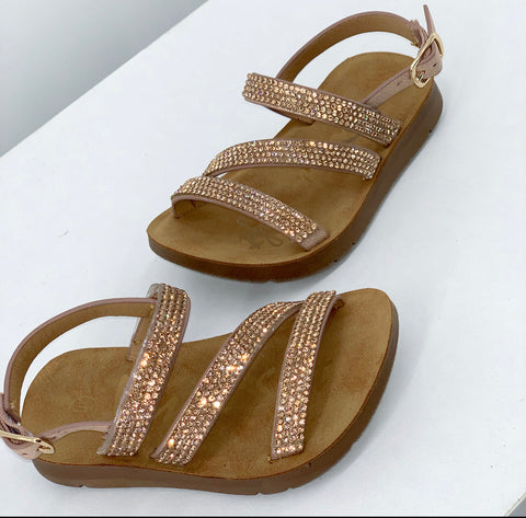 The Mia Sandal (Toddler)