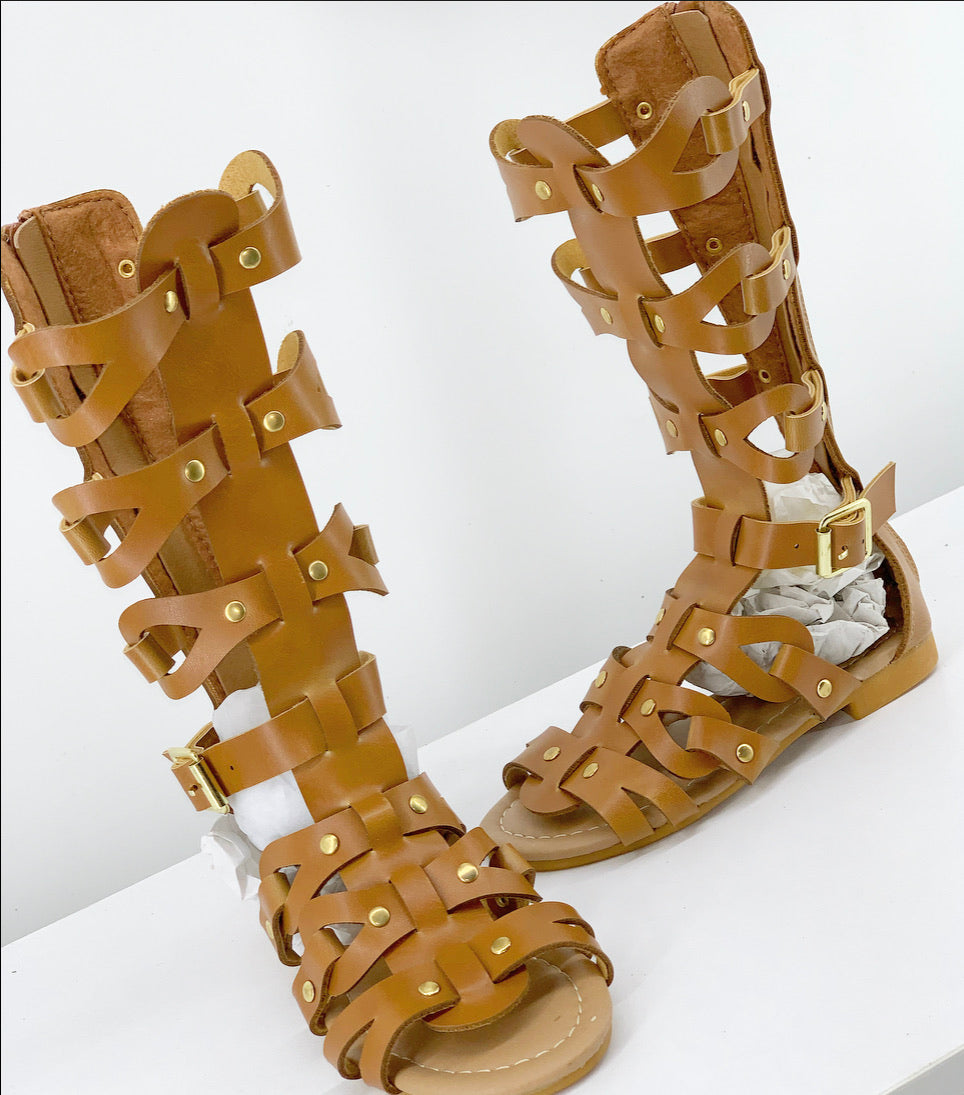 The Xena Sandal(Big Kids)**ONLY SIZE 2 AVAILABLE**