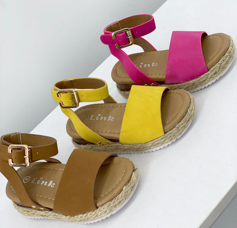 The Stacey Sandal(Toddler)