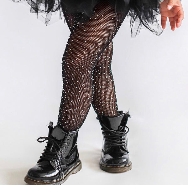 Bedazzled Tights- Basic Colors