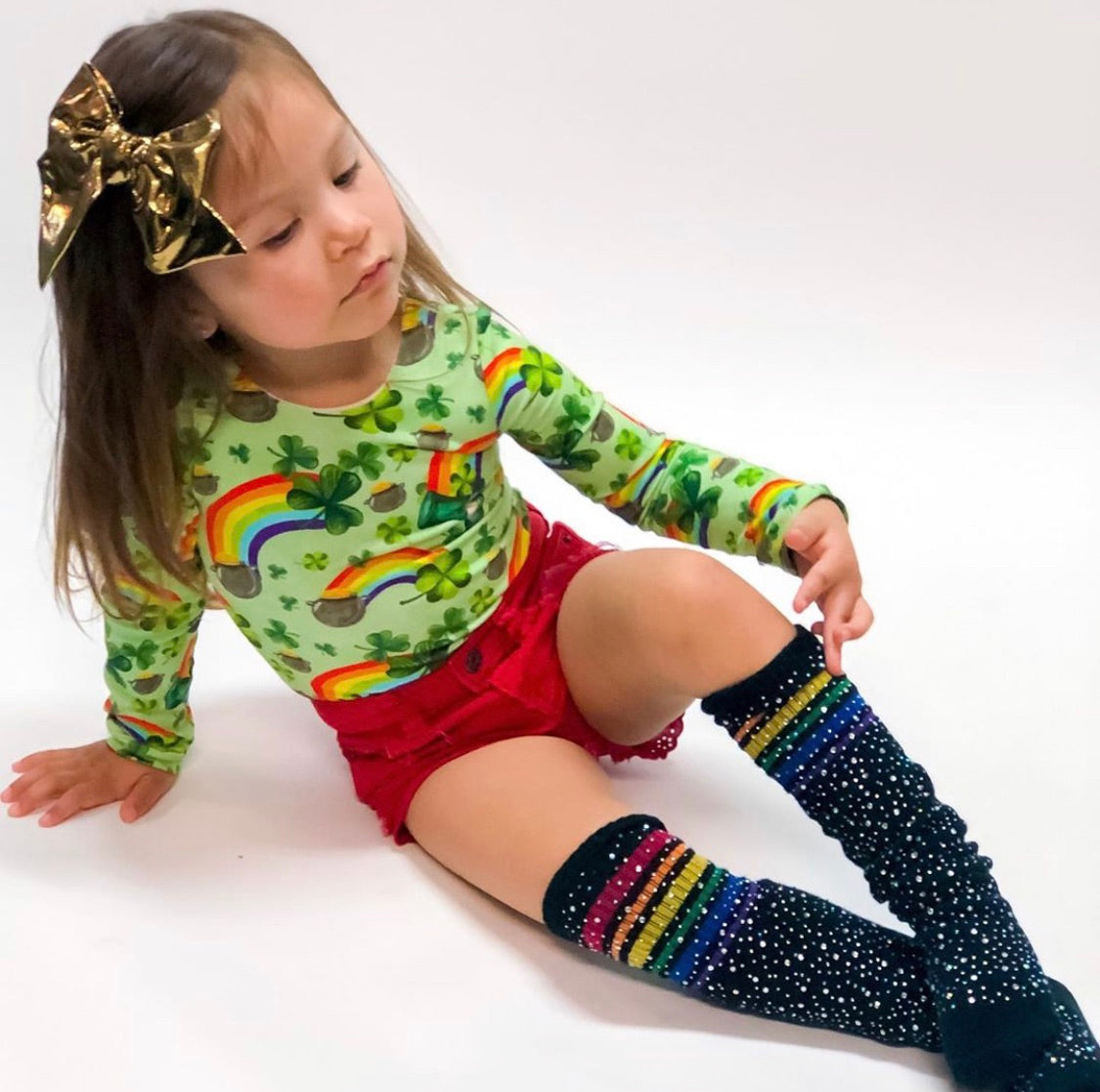 Bedazzled Knee HIghs