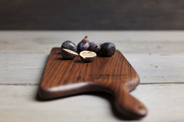 121. Medium Black Walnut Wood Handcrafted Cutting Board