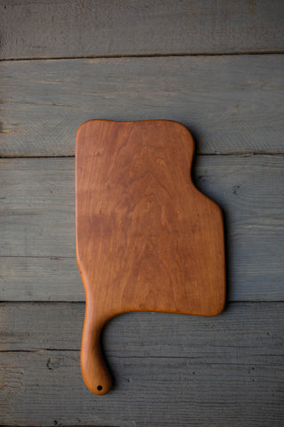 143. Handmade Cherry Wood Cutting Board by Linwood