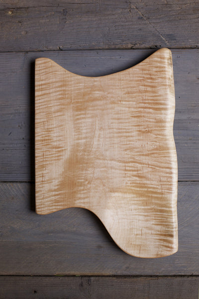 146. Tiger Maple Wood Handcrafted Cutting Board