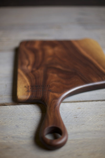 148A. Large Black Walnut Wood Handcrafted Cutting Board