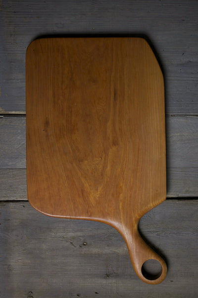154. Extra Large Handmade Cherry Wood Cutting Board by Lin Babb of Linwood