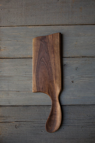 156. Handmade Black Walnut Wood Cutting Board by Linwood