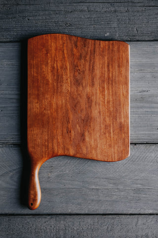157. Handmade Cherry Wood Cutting Board by Linwood