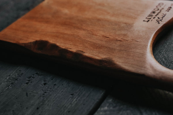 15. Handmade Maple Wood Cutting Board by Linwood