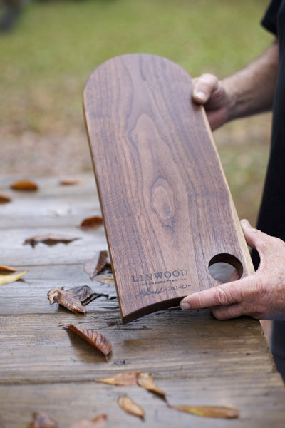163. Handmade cutting boards made out of walnut wood