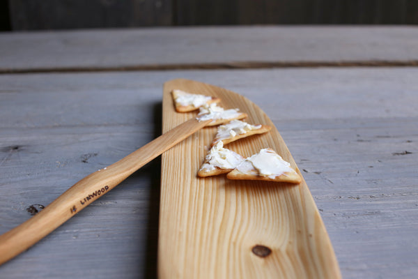 169. Handmade wooden cracker tray. Handcrafted cypress wood serving piece.