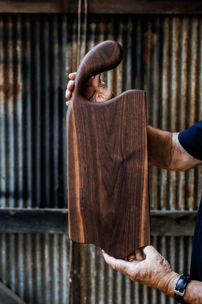 218. Handmade Black Walnut Cutting Board by Linwood