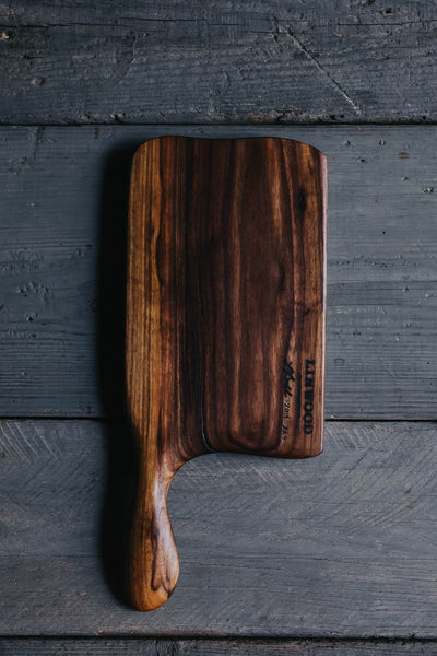 224. Handmade Black Walnut Cutting Board by Linwood