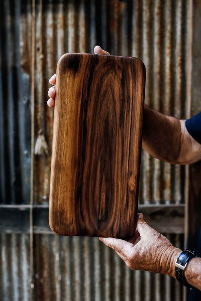 226. Handmade Black Walnut Serving and Cutting Board by Linwood