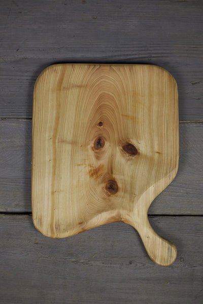 278. Handmade Wooden Platter, Serving Board, Cutting Board out of Cypress Wood by Lin Babb of Linwood