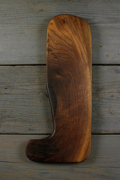 300. large handcrafted black walnut wood cutting board for the kitchen
