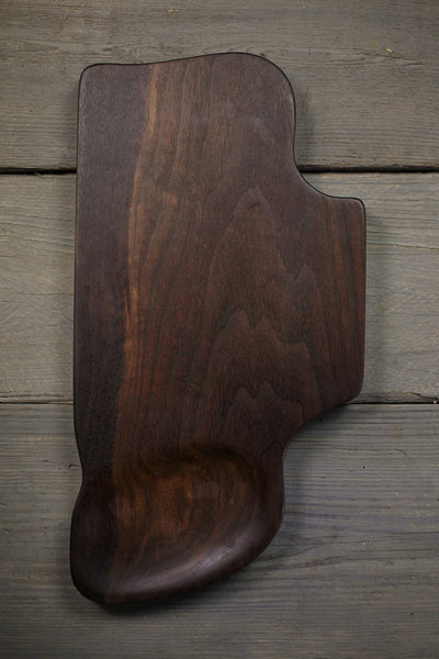330. Extra Large Black Walnut Wood Handcrafted Cutting Board