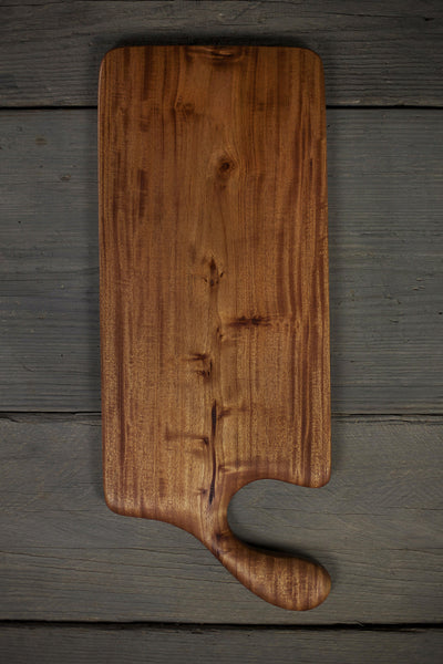 332. Large Cherry Wood Handcrafted Cutting Board