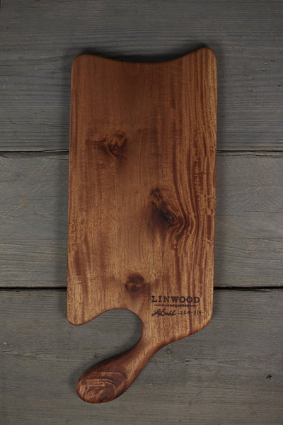 334. Large Cherry Wood Handcrafted Cutting Board