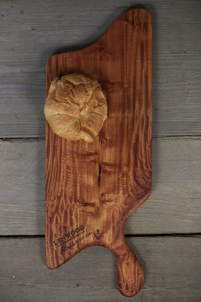 335. Large Cherry Wood Handcrafted Cutting Board