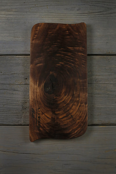 347. Handmade black walnut wood cutting board. Handcrafted cutting boards for the kitchen.