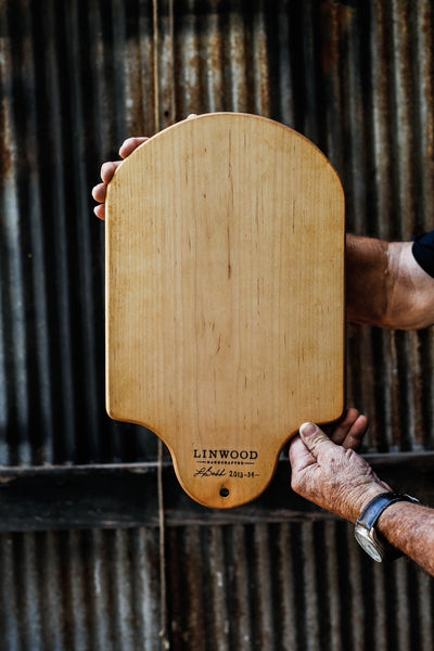 34. Handmade Maple Wood Cutting Board by Linwood