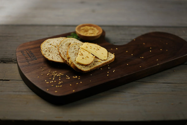 364. Handmade large cutting board made of wood.