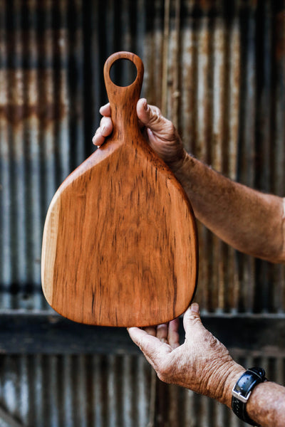 377. Handmade Cherry Wood Cutting Board by Linwood