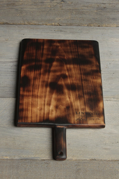 37. Burnt Maple Wood Cutting Board