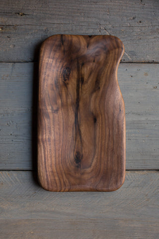 382. Handmade Black Walnut Wood Serving and Cutting Board by Linwood