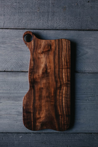 383. Handmade Black Walnut Wood Cutting Board by Linwood