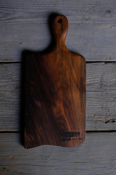 2. Large Black Walnut Wood Handmade Cutting Board