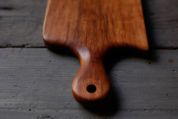 3. Cherry Wood Handcrafted Handmade Cutting Board