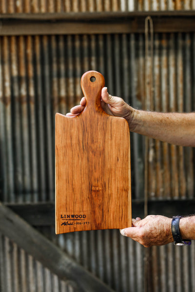 6. Cherry Wood Handcrafted Handmade Cutting Board