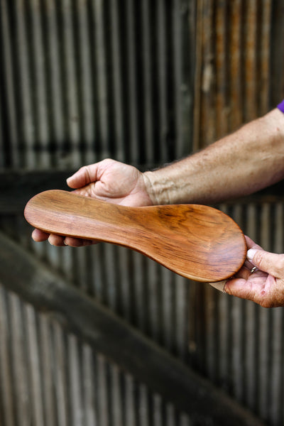 5. Unique Wooden Handmade Spoon Rest