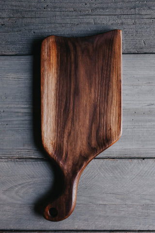 425. Handmade Black Walnut Cutting Board by Linwood