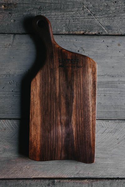426. Handmade Black Walnut Cutting Board by Linwood