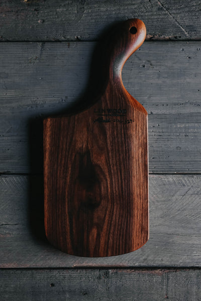 427. Handmade Black Walnut Cutting Board by Linwood