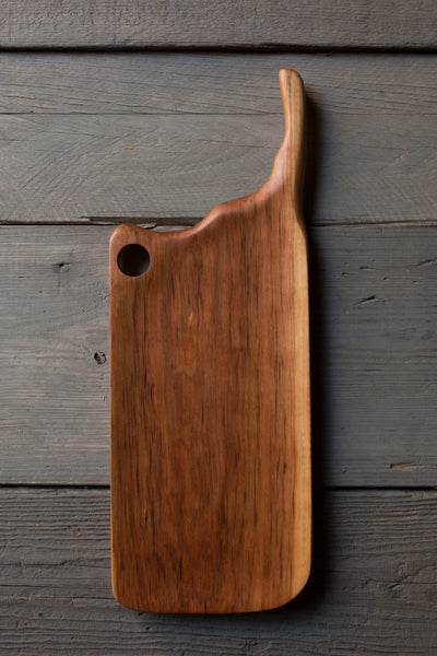 428. Handmade Black Walnut Serving and Cutting Board by Linwood