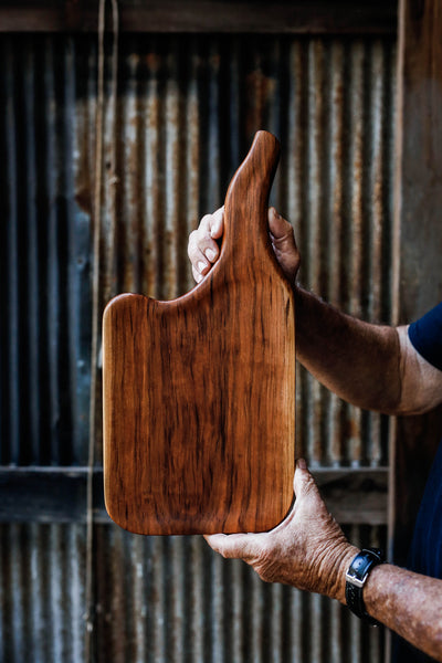 430. Handmade Cherry Wood Cutting Board by Linwood