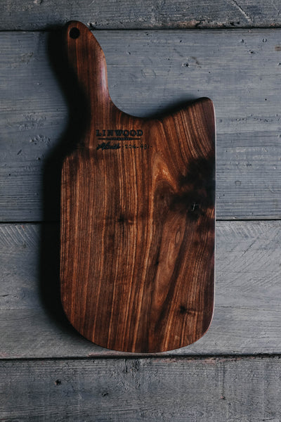 431. Handmade Black Walnut Cutting Board by Linwood
