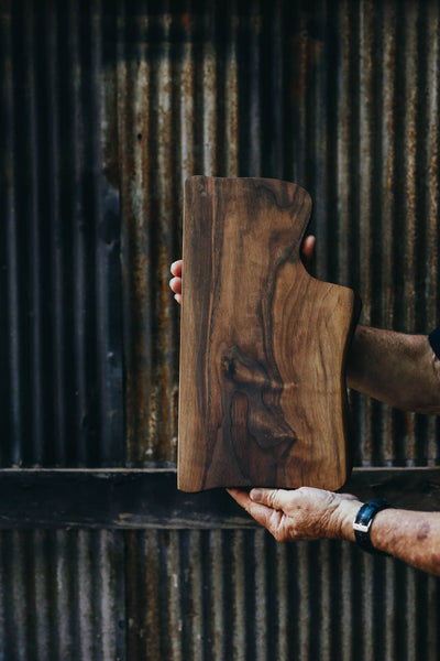 445. Handmade Black Walnut Wood Cutting Board