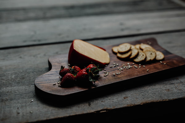 447. Black Walnut Handmade Cutting Board Cheese Plate