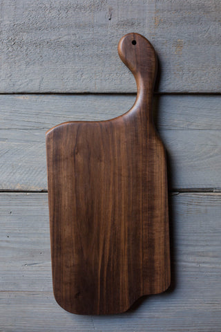 448. Black Walnut Cutting Board by Lin Babb of linwoodco.com